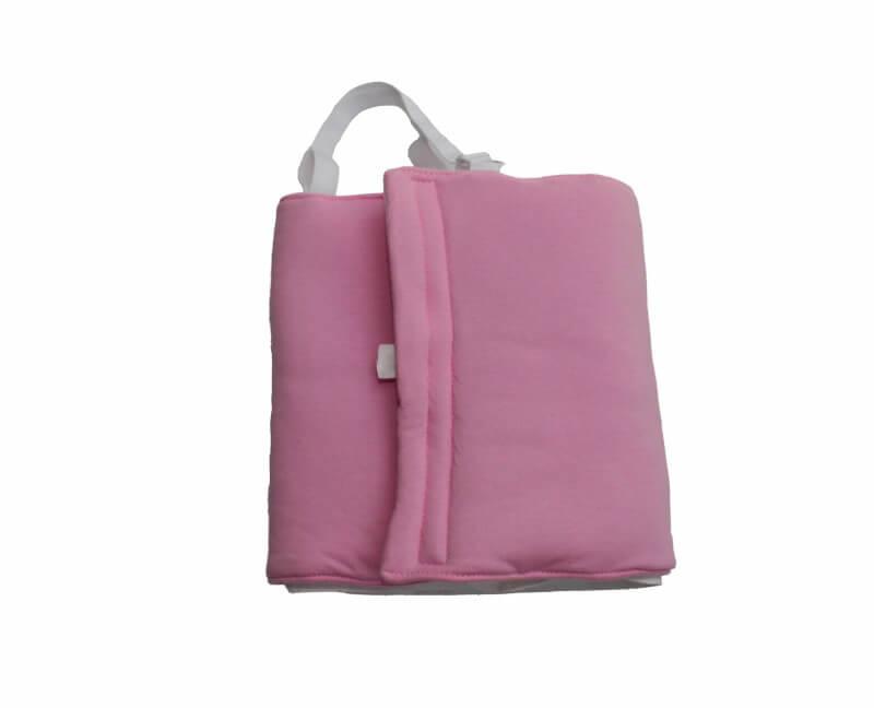 Zábalový pás pre dojčatá 40-50 cm (vhodný aj na Priessnitzov zábal) ružový