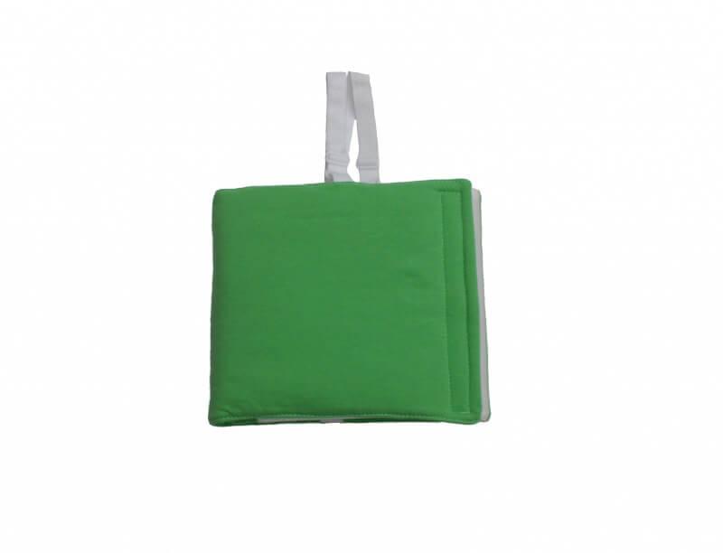 Zábalový pás pre dojčatá 40-50 cm (vhodný aj na Priessnitzov zábal) zelený