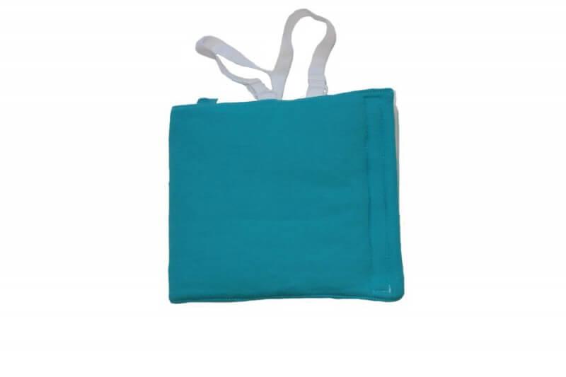 Zábalový pás pre dojčatá 40-50 cm (vhodný aj na Priessnitzov zábal) modrý