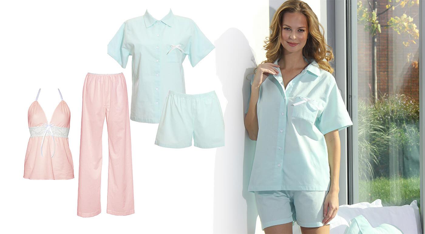 Luxusné dámske pyžamo z organickej bavlny a flanelu, ktoré vám zaručí absolútne pohodlie