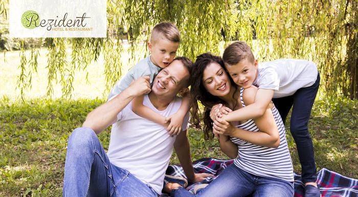 Rodinný pobyt v Turčianskych Tepliciach