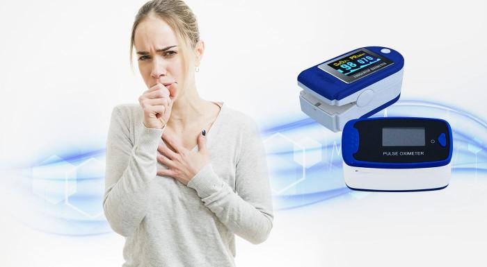 Oximeter na včasnú diagnostiku pri zápale pľúc