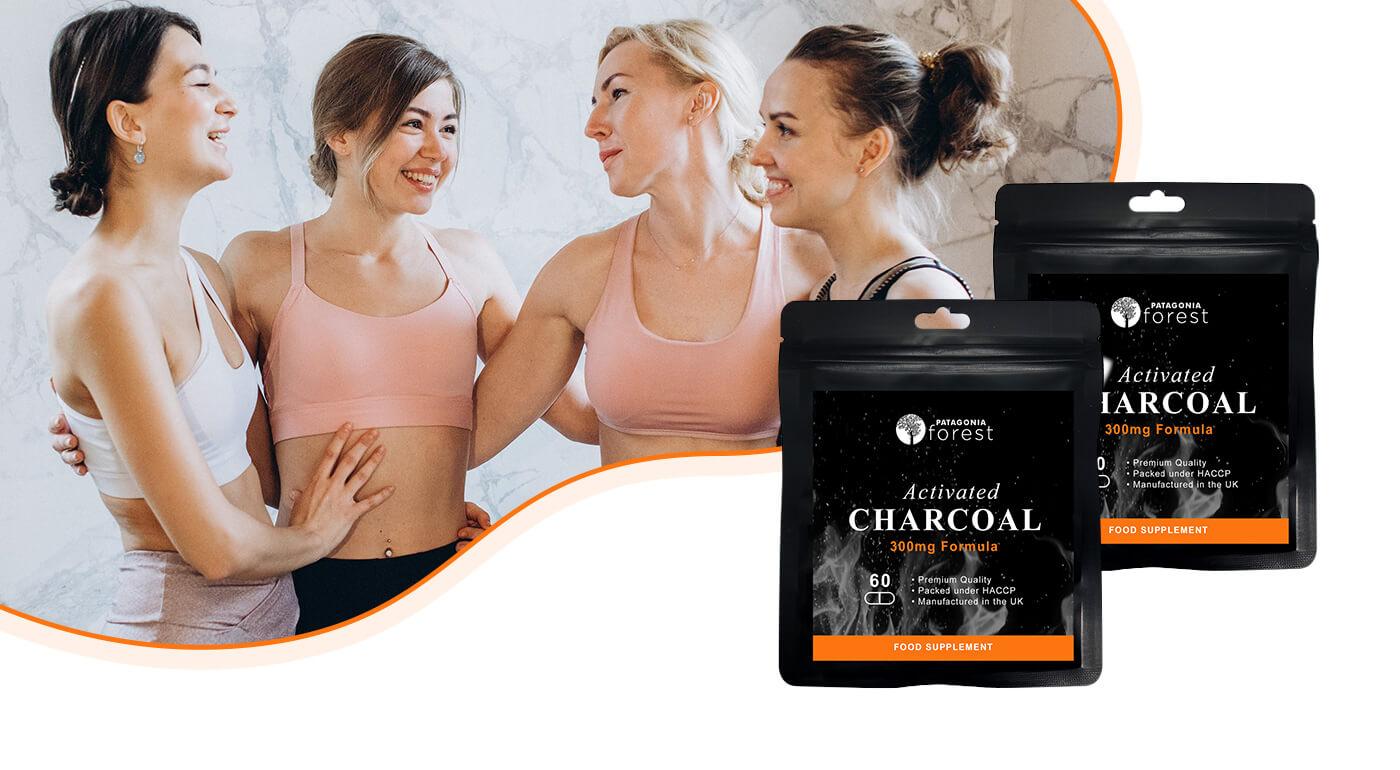 Aktívne uhlie pre lepšie trávenie a zdravšie črevá