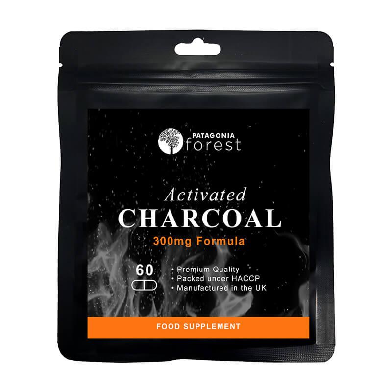 Patagonia Forest: Aktívne uhlie 300 mg (balenie 60 tabliet)