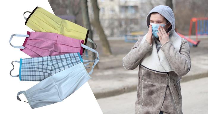 Nosím rúško, chránim seba, chránim teba. Zaobstarajte si kvalitné bavlnené rúška, ktoré sa dajú prať a je možné ich opakovane používať. Vyrobené s láskou na Slovensku!