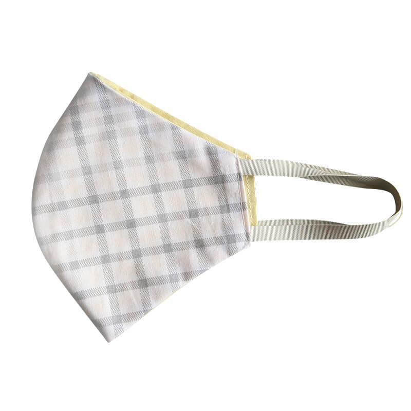 Bavlnené rúško - maska károvaná