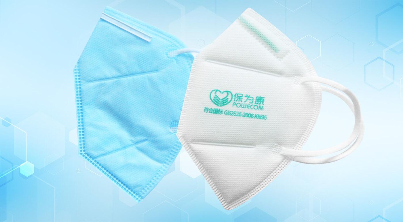 Respirátory FFP2 a FFP3 s bavlneným filtrom