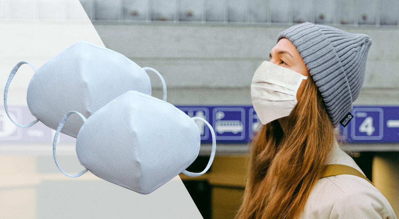 Ochranné rúška z netkanej textílie, ktoré dokonale priliehajú k tvári