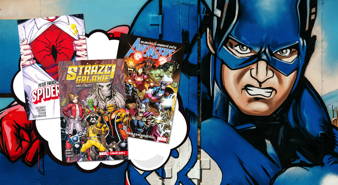 Avengers, Spiderman, Strážcovia Galaxie, Deadpool a ďalšie: Najlepšie Marvel komiksy na jednom mieste