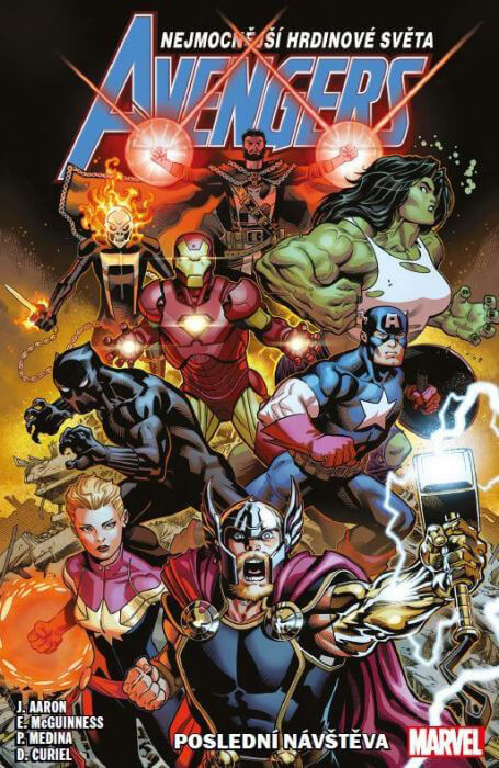 Komiks Avengers 1: Poslední návštěva