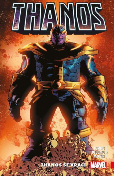 Komiks Thanos 1: Thanos se vrací