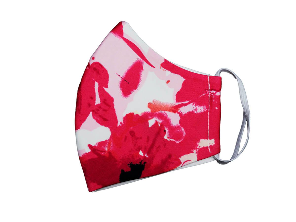 Bavlnené rúško- maska kvetová