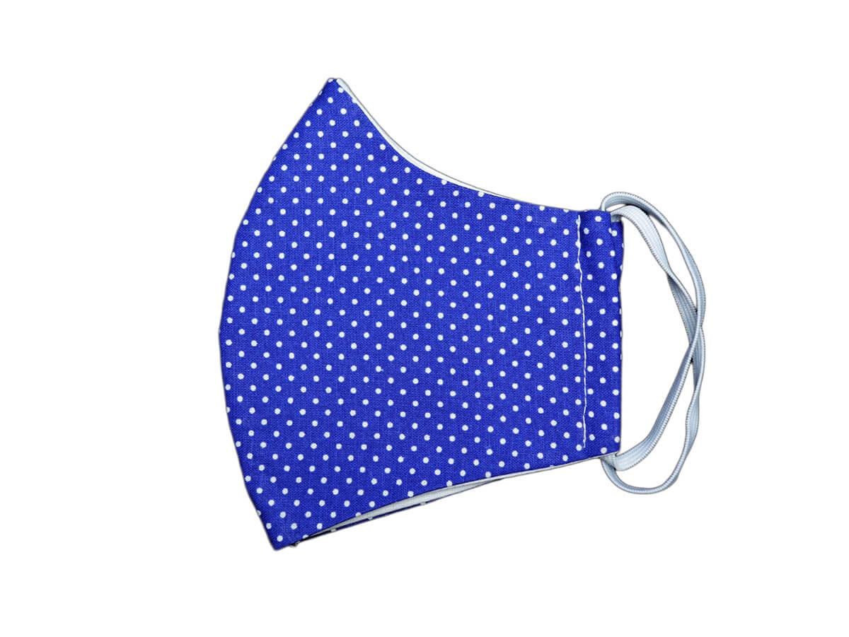 Bavlnené rúško- maska bodkovaná