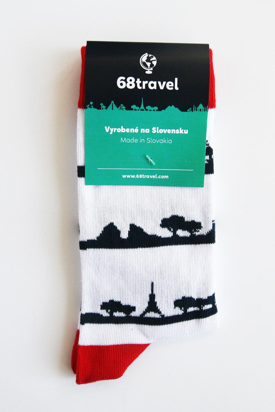 Ponožky Panoráma - veľkosť 35-38