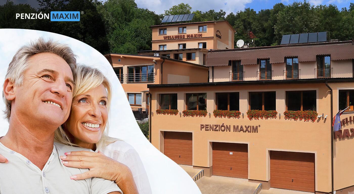 Bojnice: Senior pobyt v Penzióne Maxim*** s polpenziou a wellness