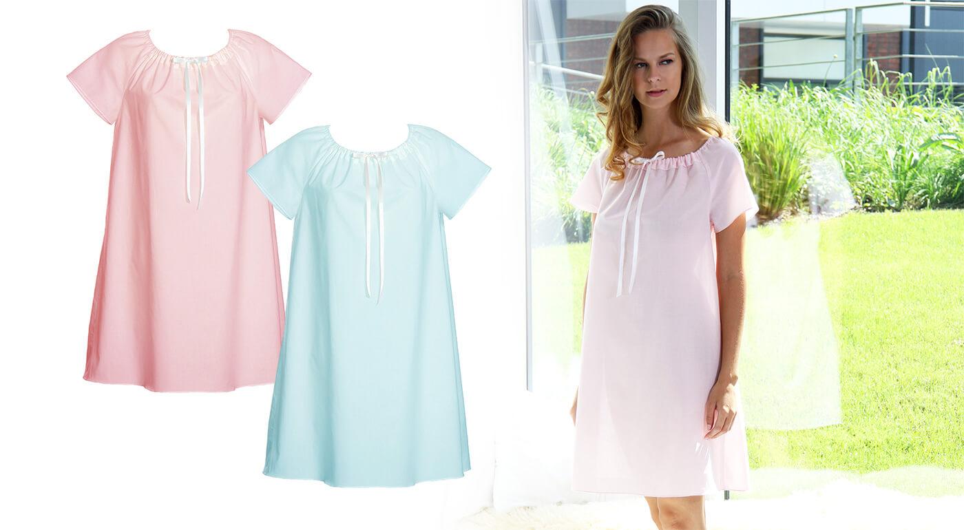 Luxusná dámska nočná košeľa z organickej bavlny, ktoré vám zaručí absolútne pohodlie