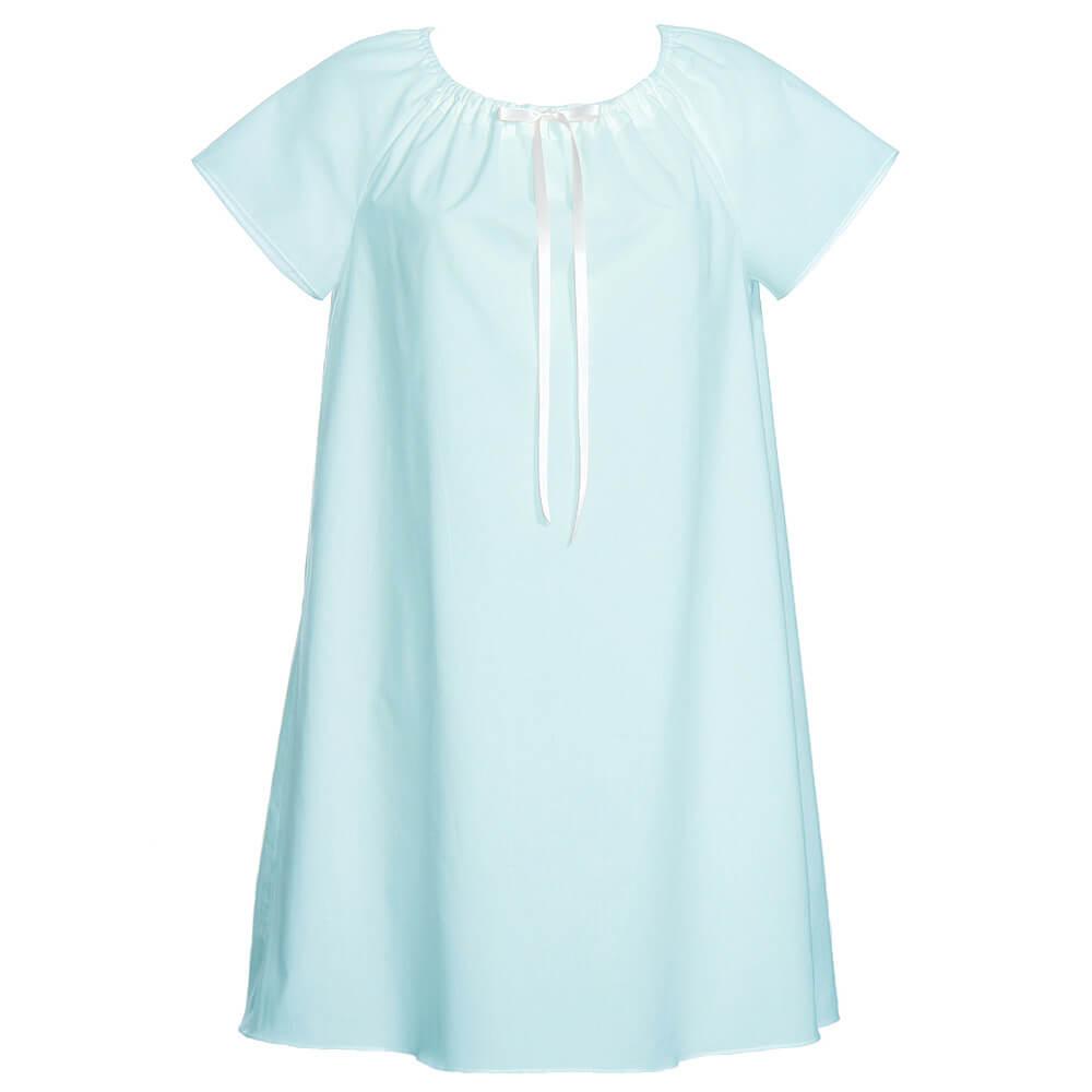 Dámska nočná košeľa Lilly -  svetlomodrá, veľkosť M