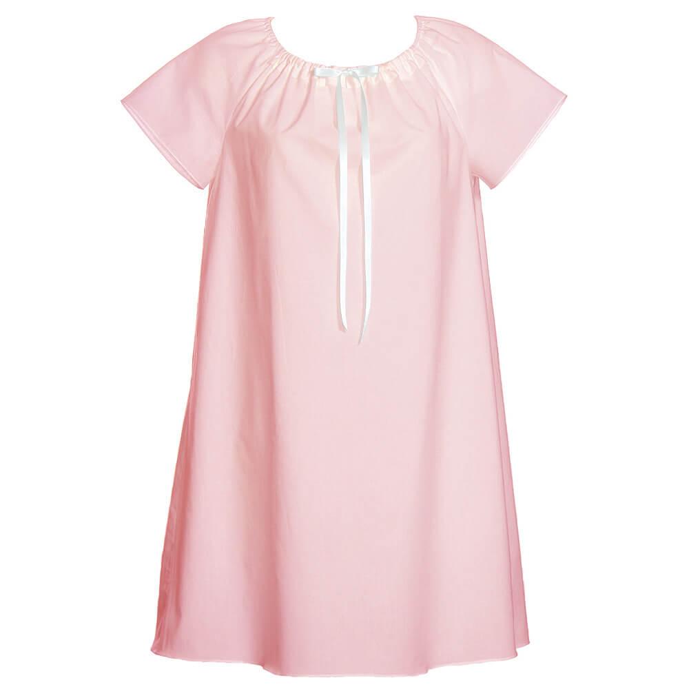 Dámska nočná košeľa Lilly -  svetloružová, veľkosť S