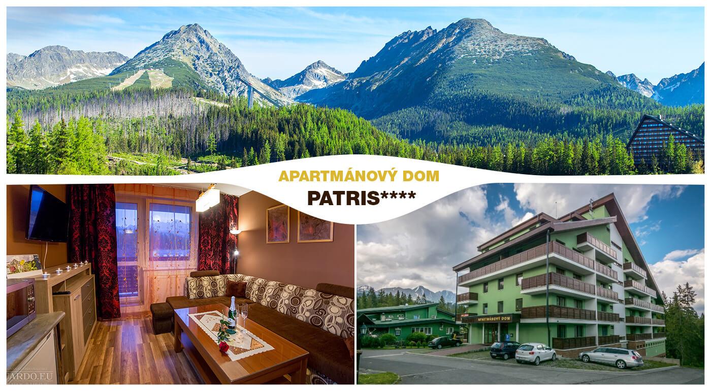Vysoké Tatry: Pobyt v moderne zariadenom Apartmánovom dome Patris v Tatranskej Štrbe