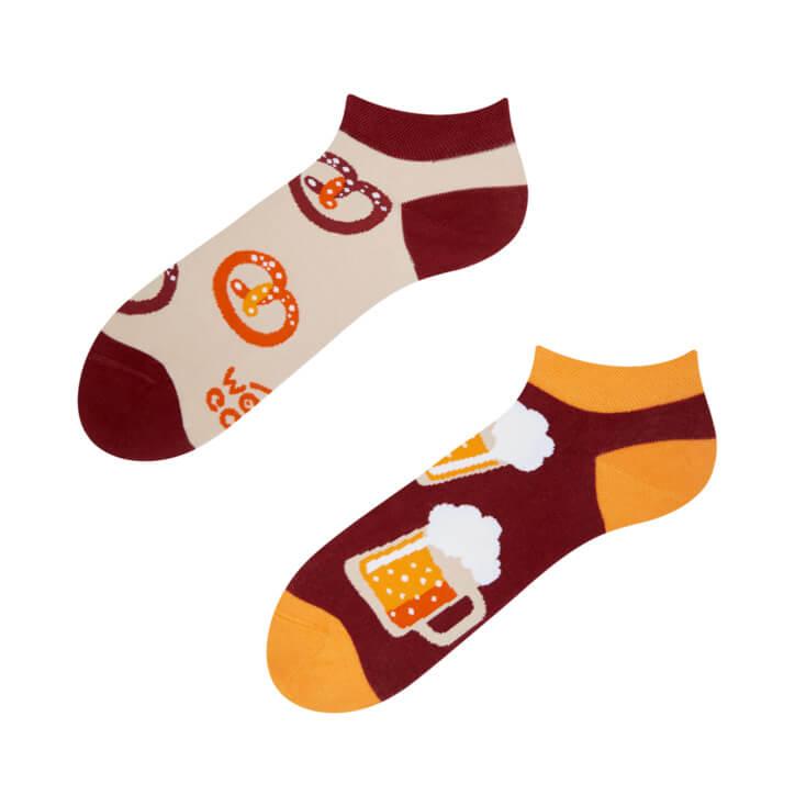 Good Mood členkové ponožky Pivo - veľkosť 35-38