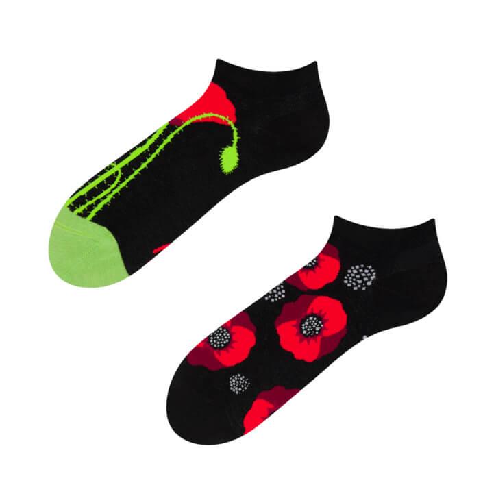 Good Mood členkové ponožky Divé maky - veľkosť 35-38
