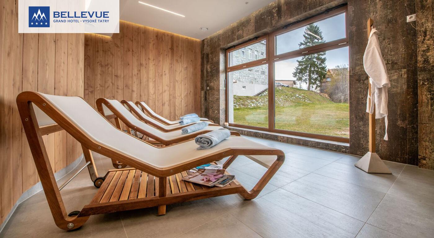 Vysoké Tatry v luxuse: Dovolenka s wellness a ubytovaním v izbe Exclusive v Grand Hoteli Bellevue****