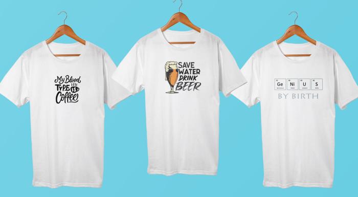 Dizajnové tričká pre mužov i ženy