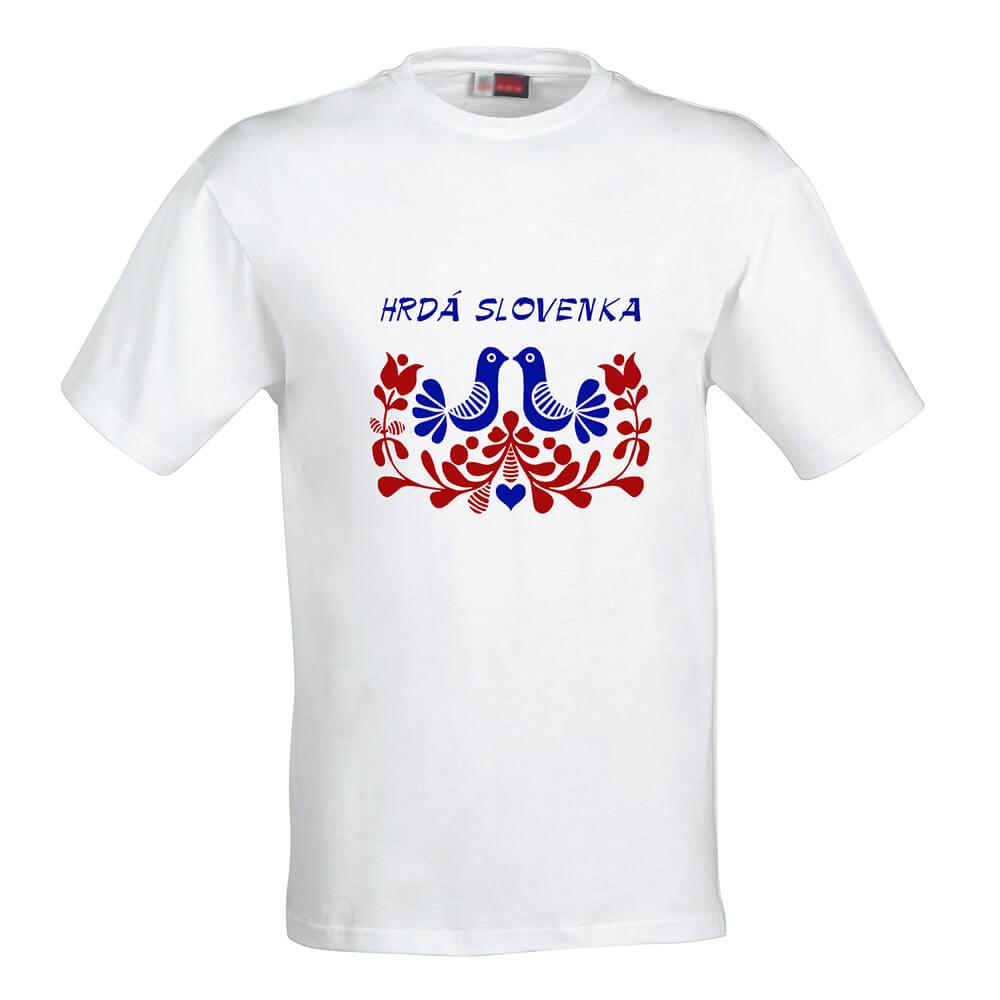 Dámske tričko Hrdá Slovenka - veľkosť S