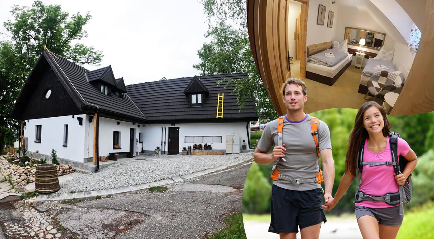 Tatranská Polianka, Vysoké Tatry: Pobyt v útulnej Horárni Sosna pre 1 alebo 2 osoby
