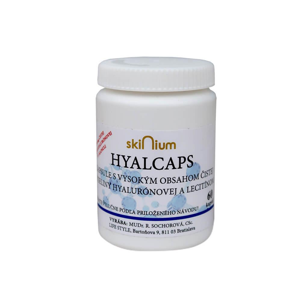 Hyalcaps pre celkovú hydratáciu (60 kapsúl)