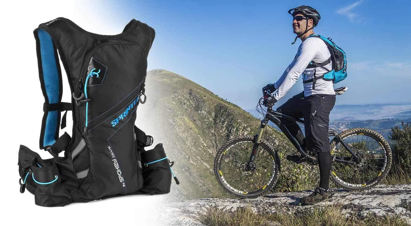 Športový batoh Spokey Sprinter 5 litrov - dokonalý spoločník na beh alebo cyklistiku