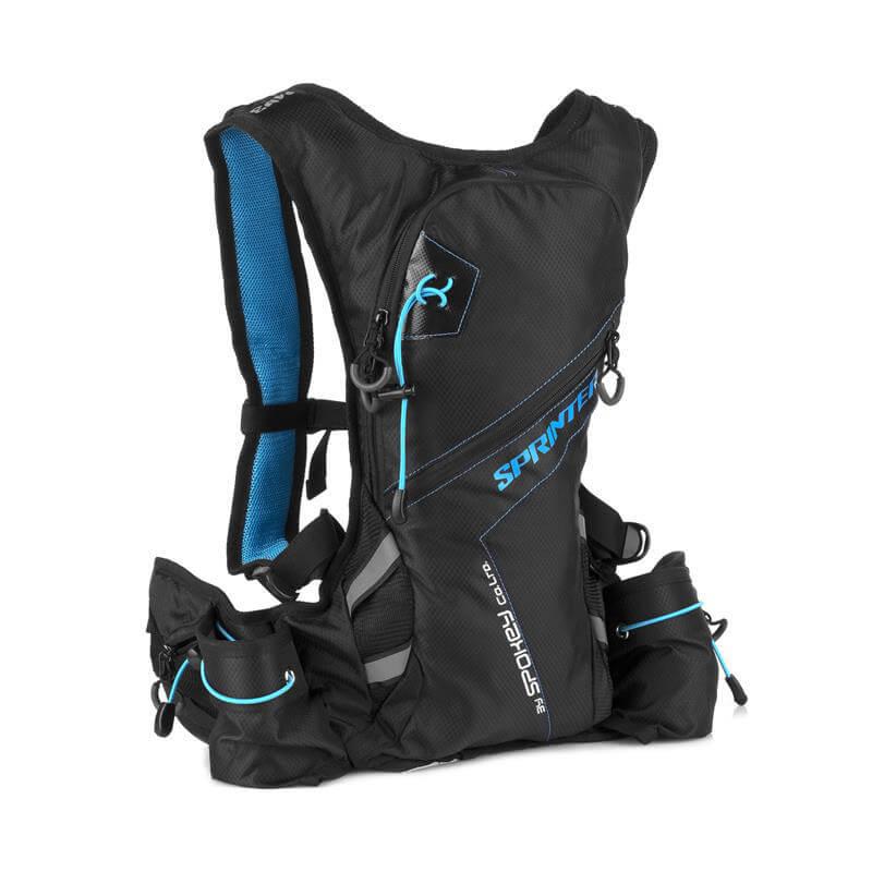 Spokey Sprinter športový batoh 5 l modro-čierny