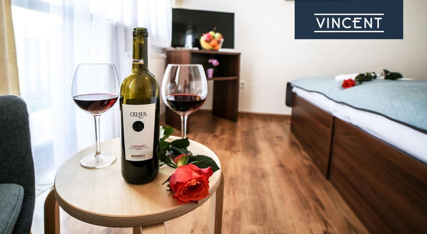 Dovolenka v Hoteli Vincent kúpeľnom mestečku Luhačovice na 3-6 dní