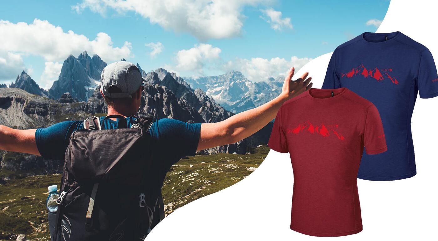 Pánske tričká svetoznámej talianskej značky Ferrino