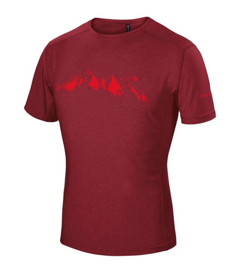Ferrino Yoho Bordeaux pánske tričko - veľkosť M