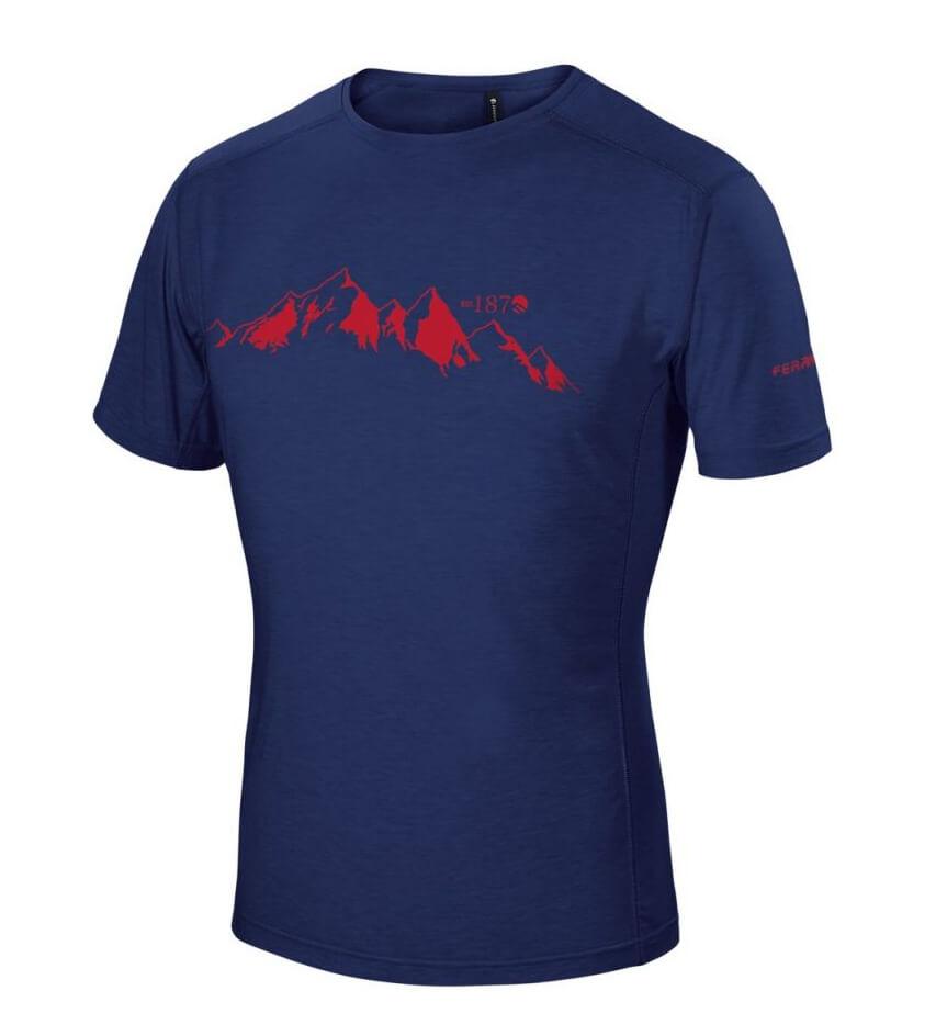 Pánske tričko Yoho Ferrino Deepl blue - veľkosť L
