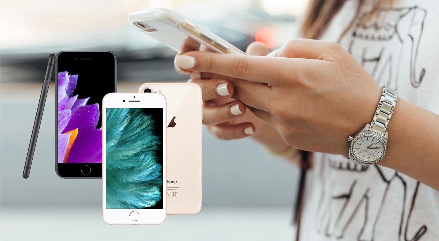 Mobilný telefón Apple iPhone 8 64GB - ochranné sklo alebo obal GRÁTIS!