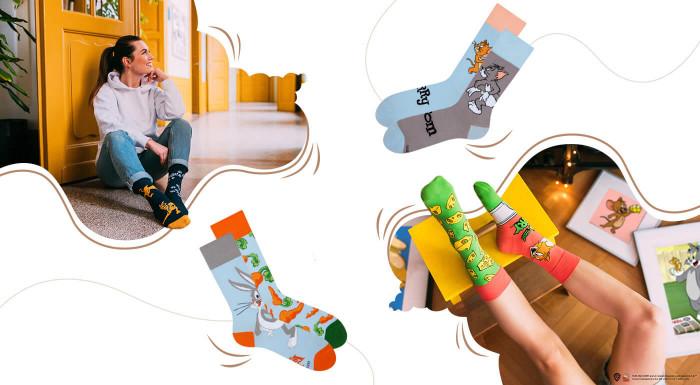 Veselé ponožky Dedoles inšpirované filmami