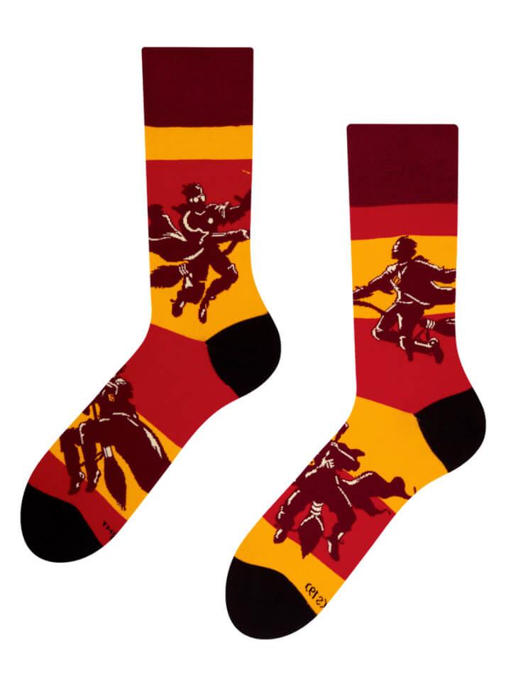 Good Mood ponožky Harry Potter ™ - Metlobal - veľkosť 35-38