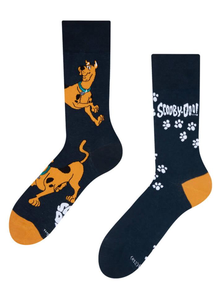 Good Mood ponožky Scooby Doo ™ Stopy - veľkosť 35-38