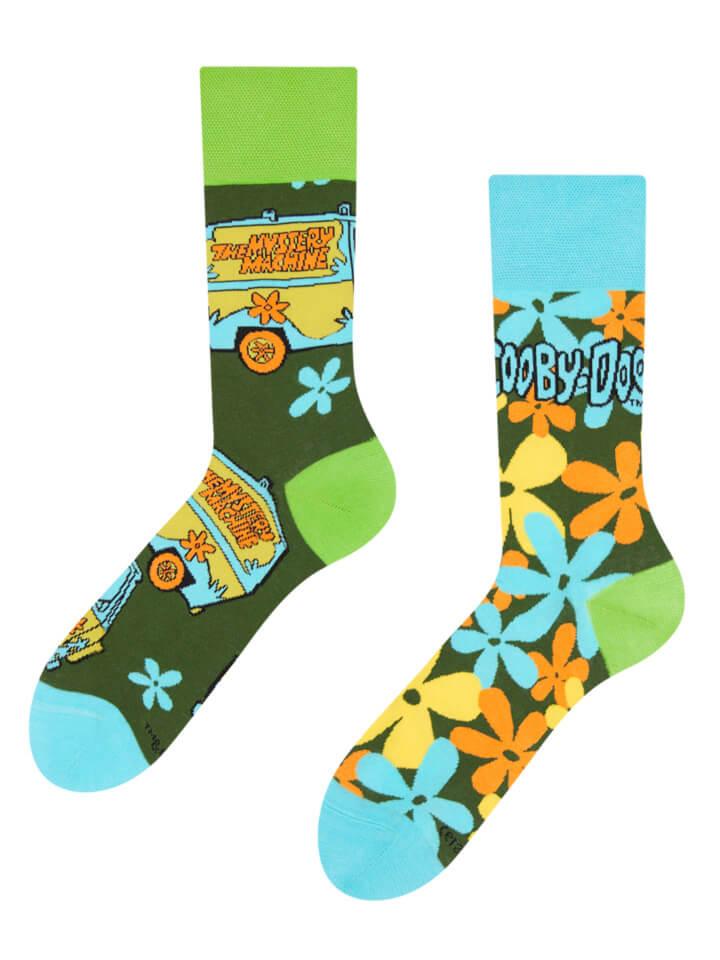 Good Mood ponožky Scooby Doo ™ Tajomná dodávka - veľkosť 39-42
