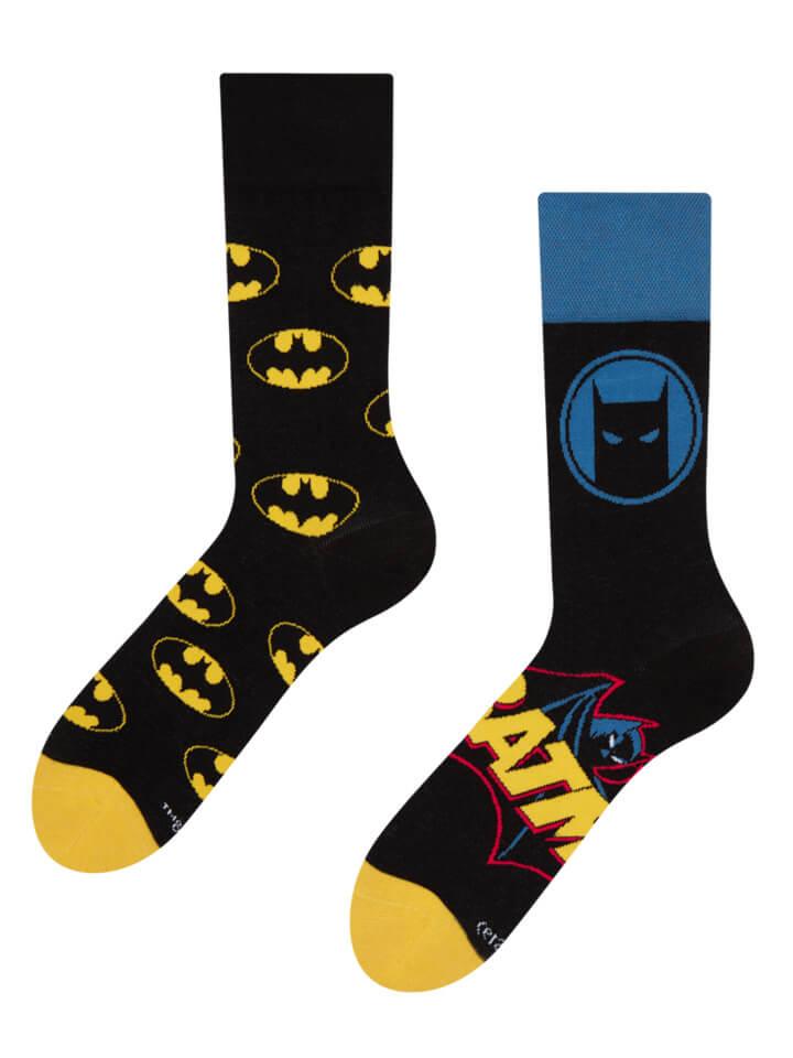 Good Mood ponožky Batman ™ Logo - veľkosť 35-38