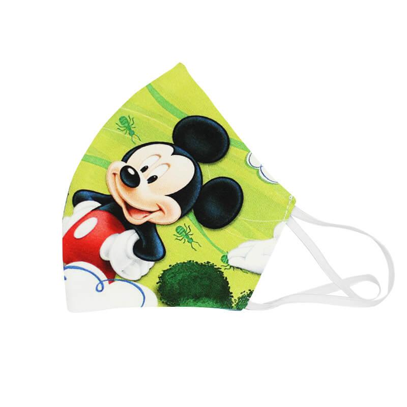 Detské bavlnené rúško - Mickey Mouse (18x11 cm)