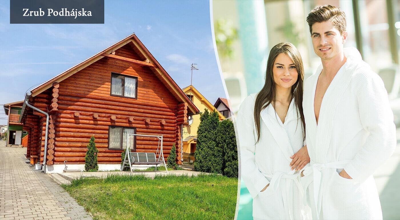 Senior pobyt alebo rodinný pobyt pri termálnom kúpalisku Podhájska v Drevenici - Zrube na 3-8 dní