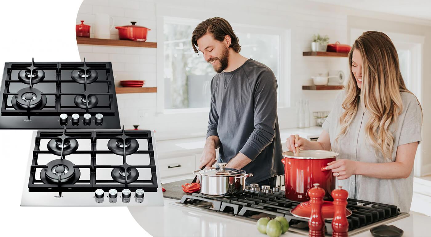 Plynová varná doska Whirlpool - TOP modely pre vašu novú kuchyňu