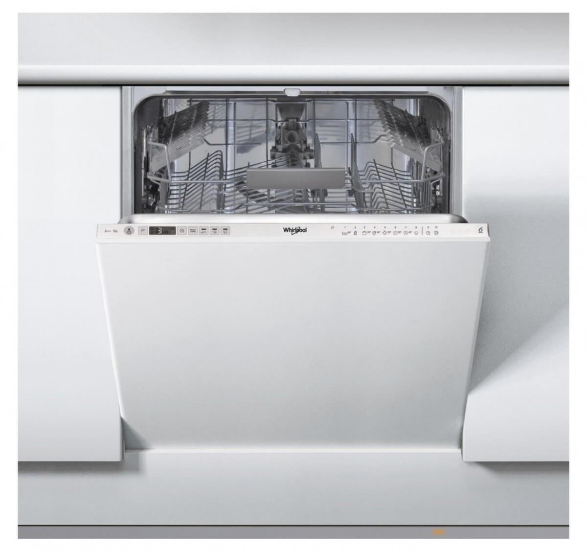 Whirlpool WIC 3C23 PEF 60 cm vstavaná umývačka riadu