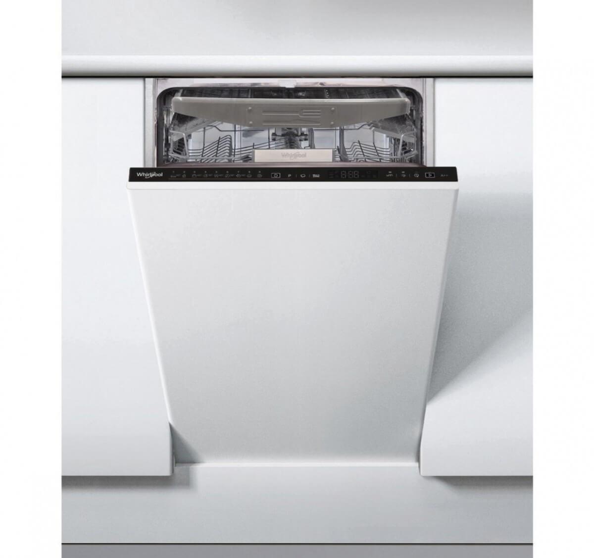 Whirlpool WSIO 3034 PFEX 45 cm vstavaná umývačka riadu