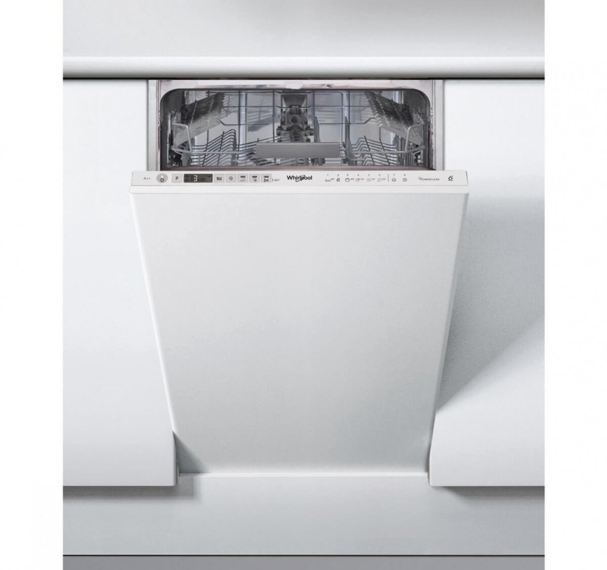 Whirlpool WSIP 4O23 PFE 45 cm vstavaná umývačka riadu