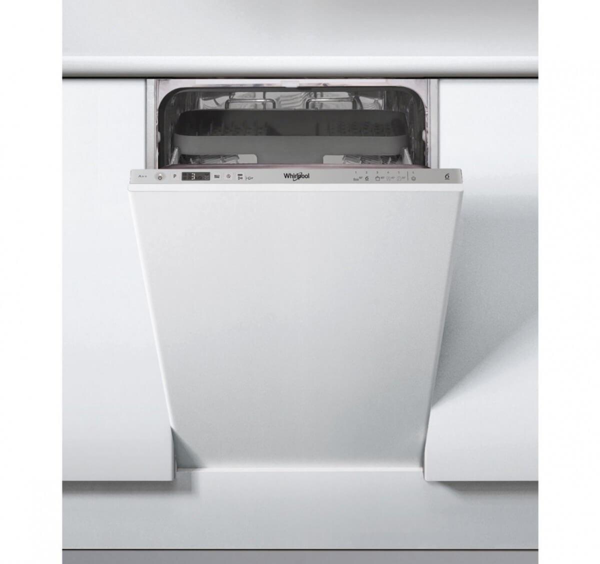 Whirlpool WSIO 3T125 6PE X 45 cm vstavaná umývačka riadu