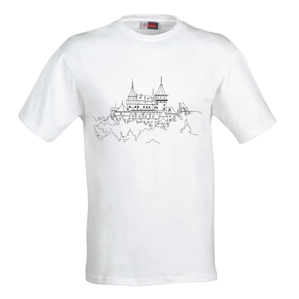 Detské tričko Omaľovánka - Zámok, veľkosť 110 (4 roky)
